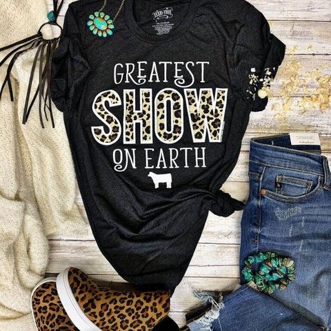 The Greatest Show On Earth Stock Show Shirt | Cornell's Country Store