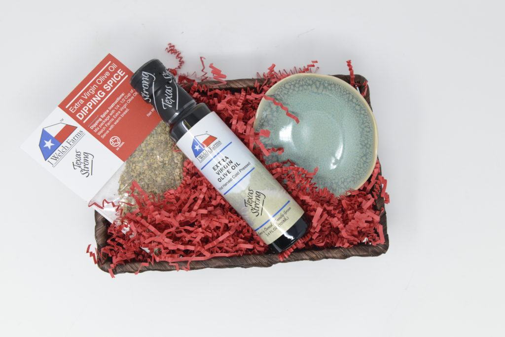Olive Oil & Dipping Spice Gift Crate