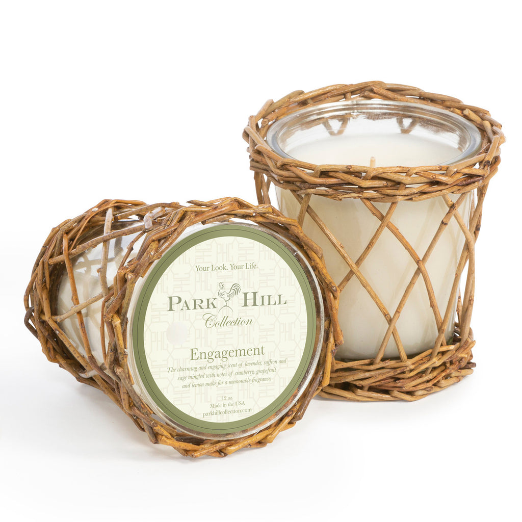 Park Hill Collection Engagement Willow Candle | Cornell's Country Store
