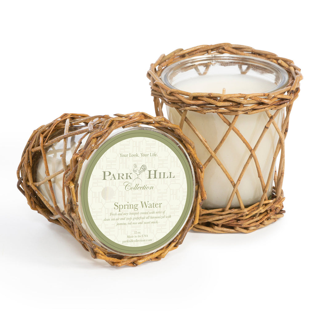 Park Hill Collection Spring Water Willow Candle