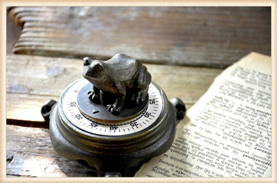 Vintage Inspired Frog Timer | Cornell's Country Store