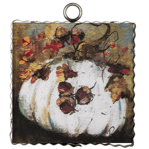 Rozie Cream Pumpkin Mini Gallery Art