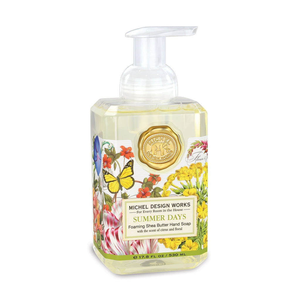 Michel Design Works Foaming Hand Soap Summer Days | Cornell's Country