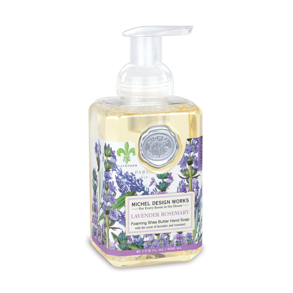 Michel Design Works Foaming Hand Soap Lavender Rosemary