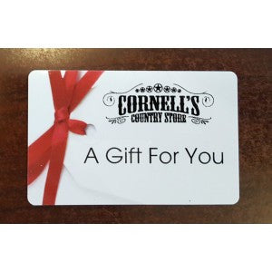 cornell's country store gift card