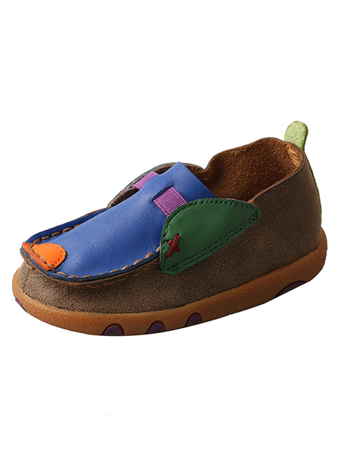 Twisted X Infant Driving Mocs Bomber Multi