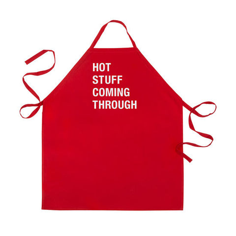 Hot Stuff Coming Through Apron