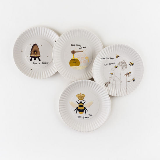 Busy Bees Melamine Salad Plates