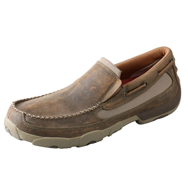 Men's Twisted X Slip On Driving Mocs MDMS002