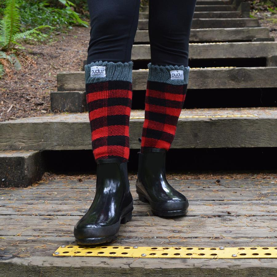 Lumberjack Red Tall Boot Socks