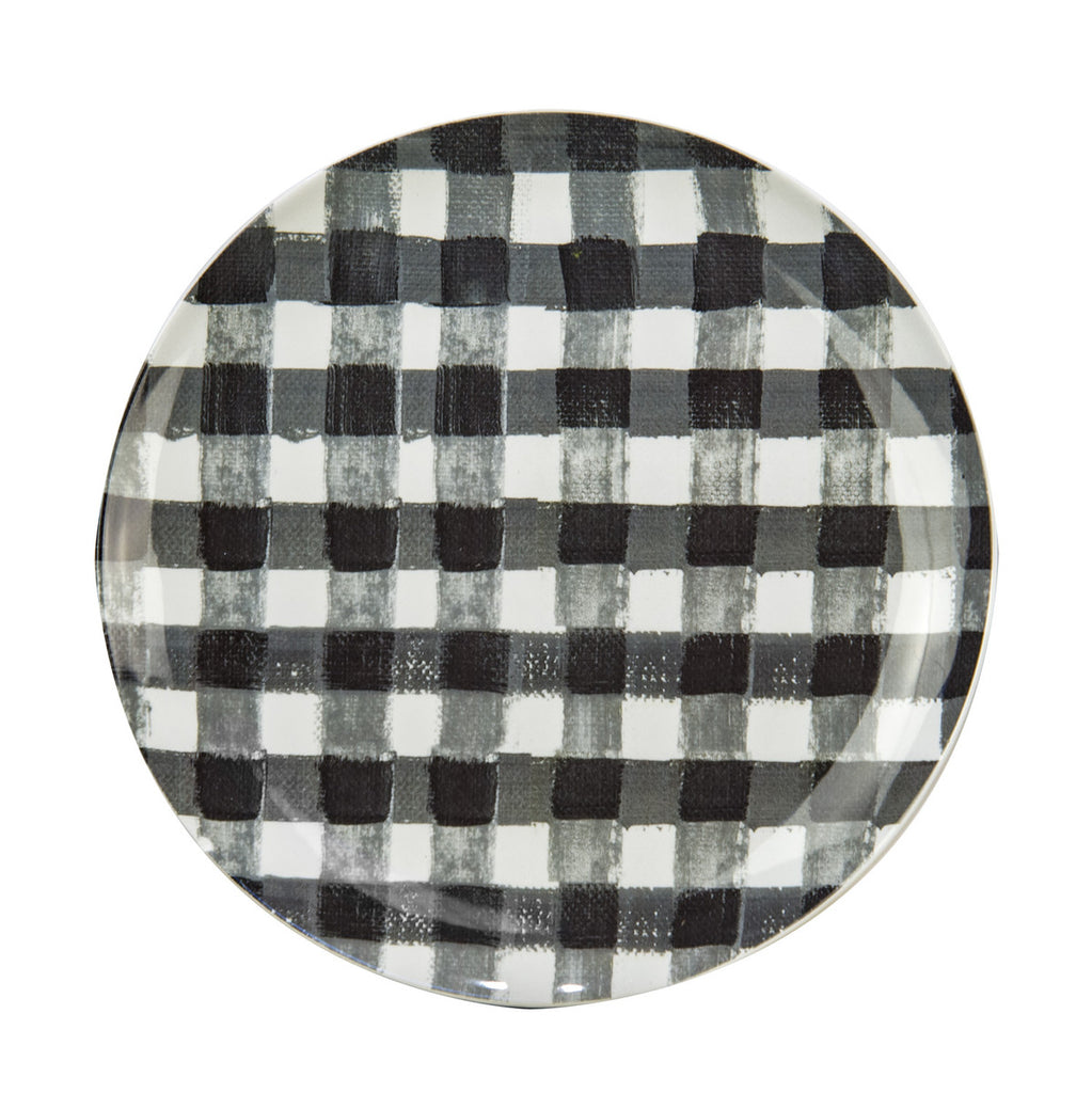 Buffalo Plaid Plates