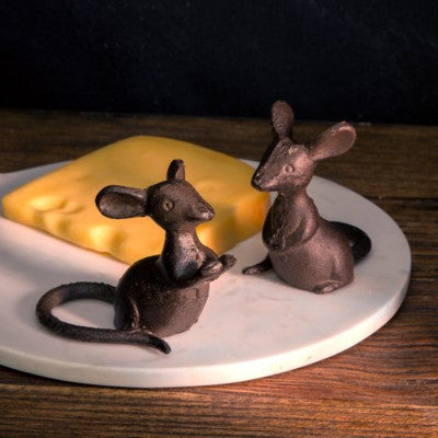 Cast Iron Pair Of Mice | Cornell's Country Store