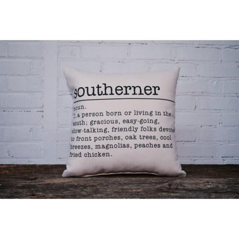 Southerner Definition Accent Pillow