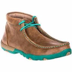 Twisted X Turquoise Driving Mocs WDM0020