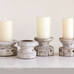 Wood Candle Holder | Cornell's Country Store