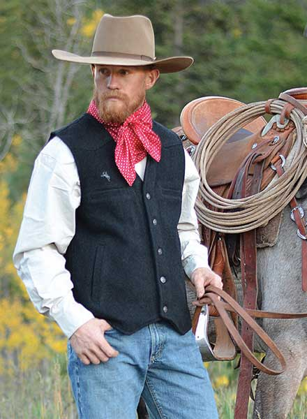 Wyoming Traders Wool Vest