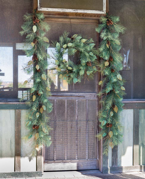 Farmhouse Collection Keene Valley Christmas Garland
