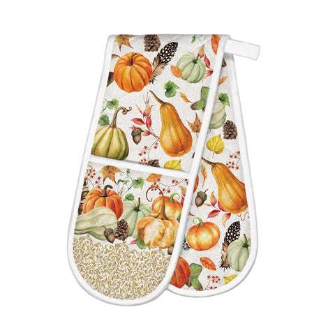 Sweet Pumpkin Double Oven Glove | Cornell's Country Store
