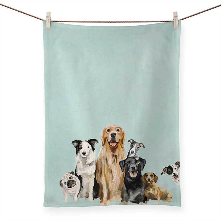 Best Friends Puppy Pack Tea Towels | Cornell's Country Store