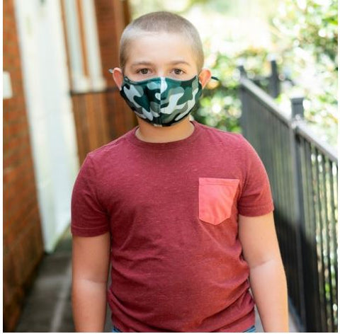 Adjustable Youth Face Mask - More Colors
