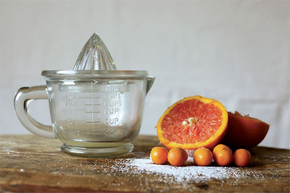 Glass Juicer w/ 2 Cup Measuring Cup