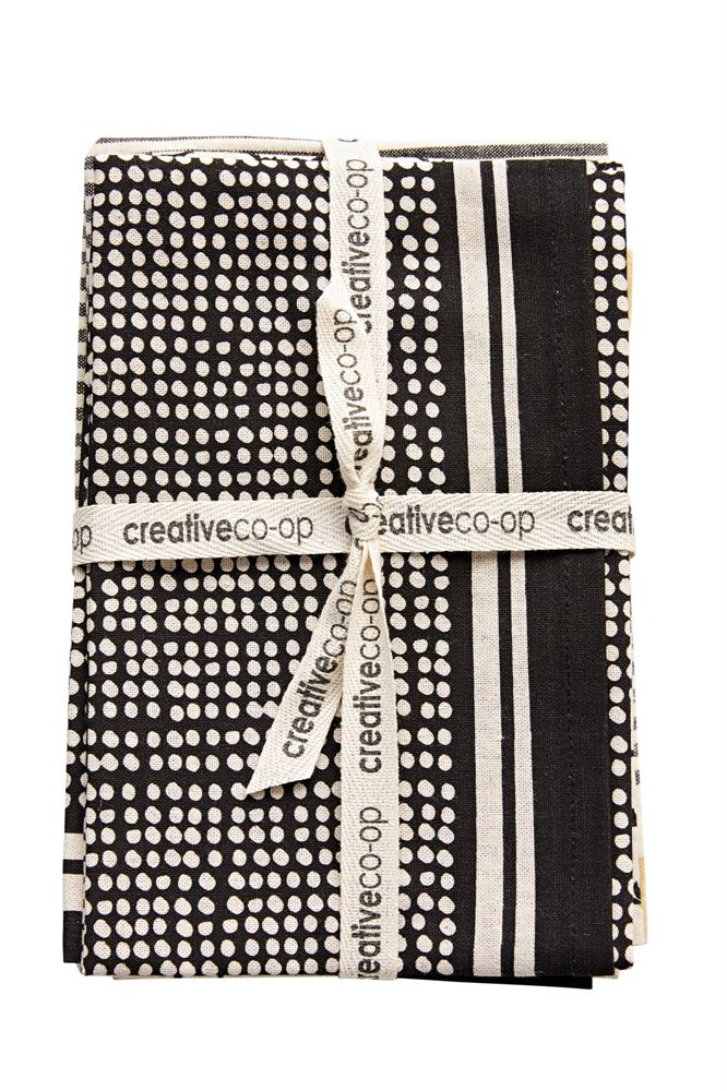 "28""L x 18""W Cotton Tea Towels, Set of 3"