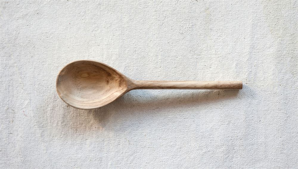 Hand Carved Mango Wood Spoon