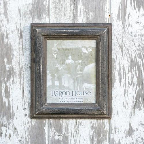 distressed black 8 X 10 picture frame