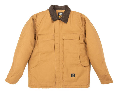Heritage Chore Coat - Brown Duck