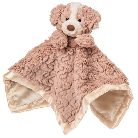 Putty Nursery Hound Character Blanket – 13×13″