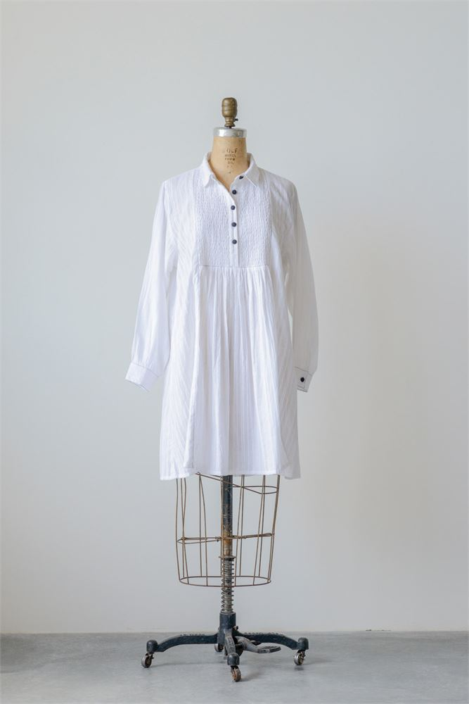 Madelyn Cotton Dobby Dress / Tunic