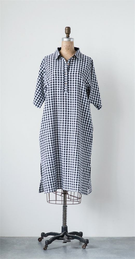 Cotton Seer Sucker Veronica Dress