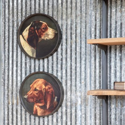 Hound Framed Prints, Two Styles