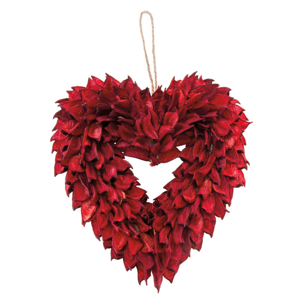 Red Heart Wreath | Cornell's Country Store