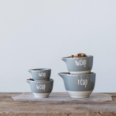 Stoneware Measuring Cups | Cornell's Country Store