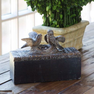 Nesting Birds Trinket Box