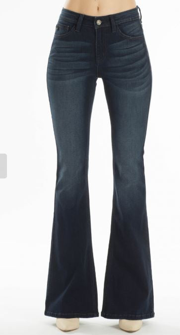 Kancan Midrise Flare Jeans