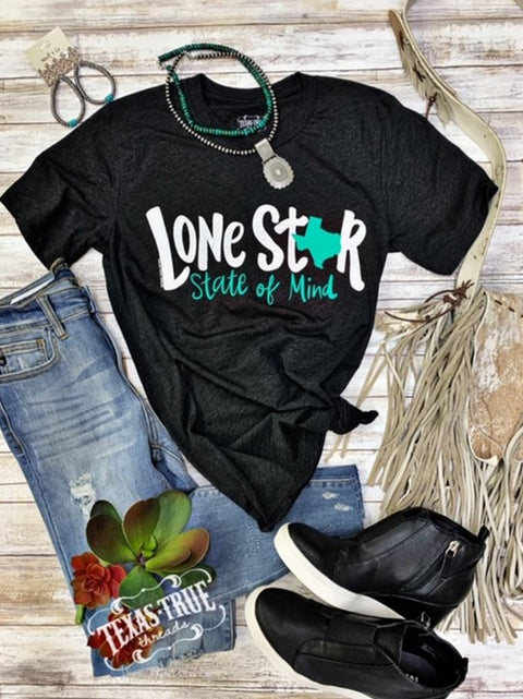 Lonestar State Of Mind Texas Tee | Cornell's Country Store
