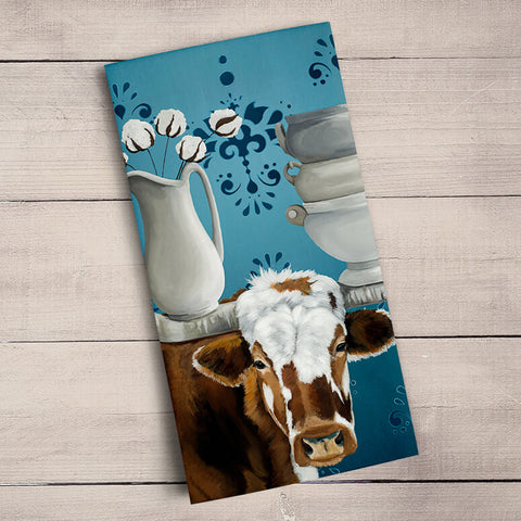 Longhorn and Ironstone Tea Towels