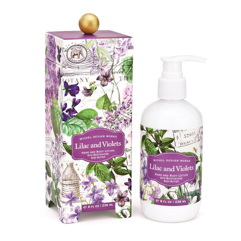 Lilac and Violets Lotion w/ Gift Box