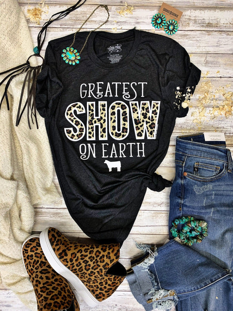 The Greatest Show On Earth Stock Show Shirt - Youth