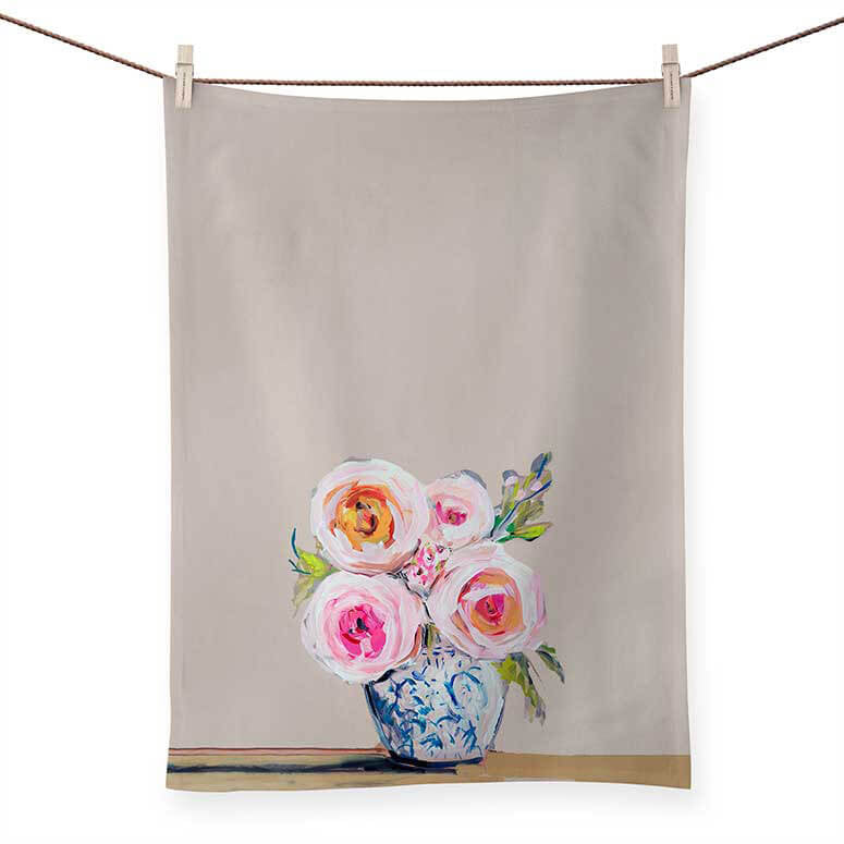 Roses Du Jour Tea Towels