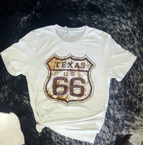 Route 66 Graphic T Shirt