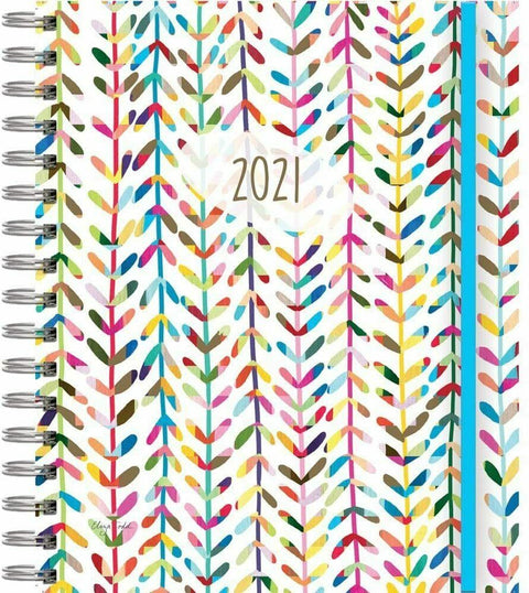 Journey Of The Heart 17 Month Planner