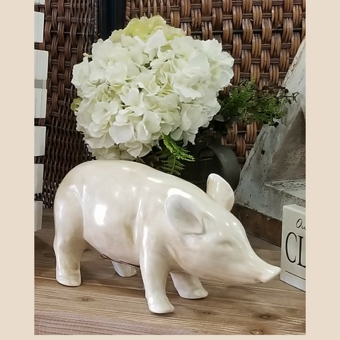 Sweet Ceramic Pig | Cornell's Country Store