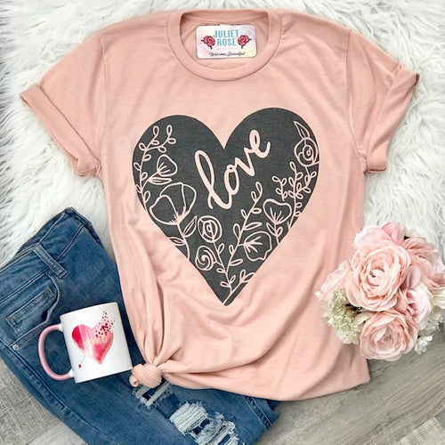 Floral Love Tee | Cornell's Country Store