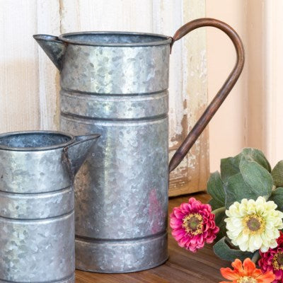 Tin Watering Can - Two Sizes