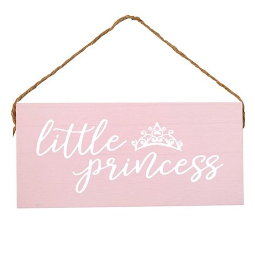"Hanging Wooden Sign-""Little Princess"""