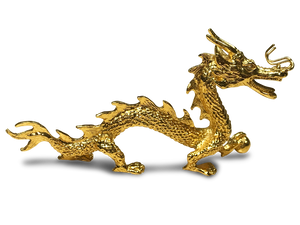 Chinese Dragon Figurine