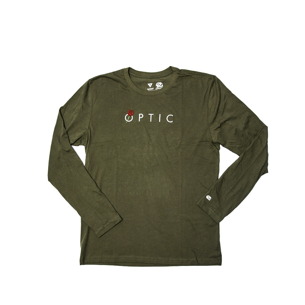 Bleed Green Longsleeve Tee - OpTic Gaming Official Global Store